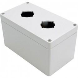 Hammond Electronics 1554PB2D Contenitore universale 160 x 90 x 90 Policarbonato Grigio 1 pz. 1554PB2D
