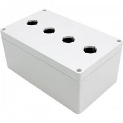 Hammond Electronics 1554MPB4 Contenitore universale 200 x 120 x 90 Policarbonato Grigio 1 pz. 1554MPB4