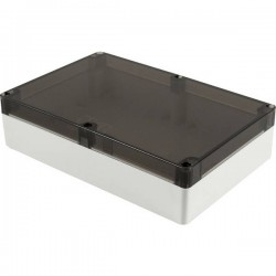 Hammond Electronics 1554VAL2GYSL Contenitore universale 240 x 160 x 60 Policarbonato Grigio 1 pz. 1554VAL2GYSL