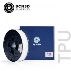 BCN3D PMBC-1003-001 Filamento per stampante 3D TPU flessibile 2.85 mm 750 g Bianco PMBC-1003-001