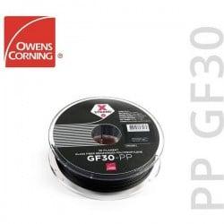 Owens Corning FIXD-PP17-BK0 Xstrand GF30 Filamento per stampante 3D PP (polipropilene) 1.75 mm 500 g Nero FIXD-PP17-BK0