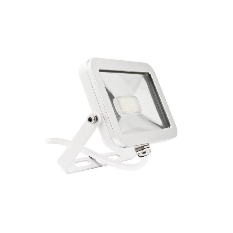Proiettore Faro LED ultrapiatto 10W ad alta luminosità IP65 per uso interno/esterno.