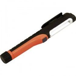 Velamp IS314 PROled Lampada a forma di penna Penlight a batteria LED (monocolore) 170 mm Nero/Rosso IS314