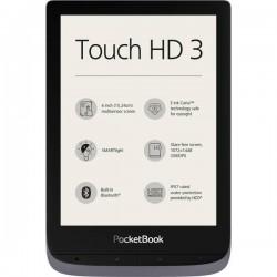 PocketBook Touch HD 3 metallic grey Lettore di eBook 15.2 cm (6 pollici) Grigio (metallizzato) PB632-J-WW