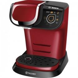 Bosch Haushalt TASSIMO MY WAY 2 TAS6503 Rosso, Nero Macchina per caffè con capsule incl. Decalcificante, One Touch, TAS6503