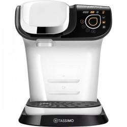 Bosch Haushalt TASSIMO MY WAY 2 TAS6504 Bianco, Nero Macchina per caffè con capsule incl. Decalcificante, One Touch, TAS6504