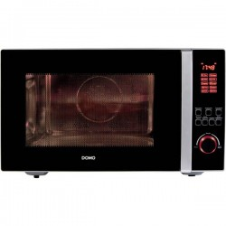 DOMO Forno a microonde 1000 W Funzione grill, con convezione, Funzione timer DO2342CG