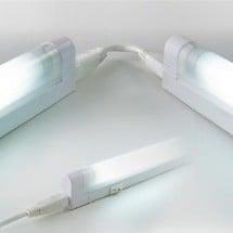 Arteleta LNK.13 - Plafoniera Fluorescente Neon 13W 6400K 2700K bianco