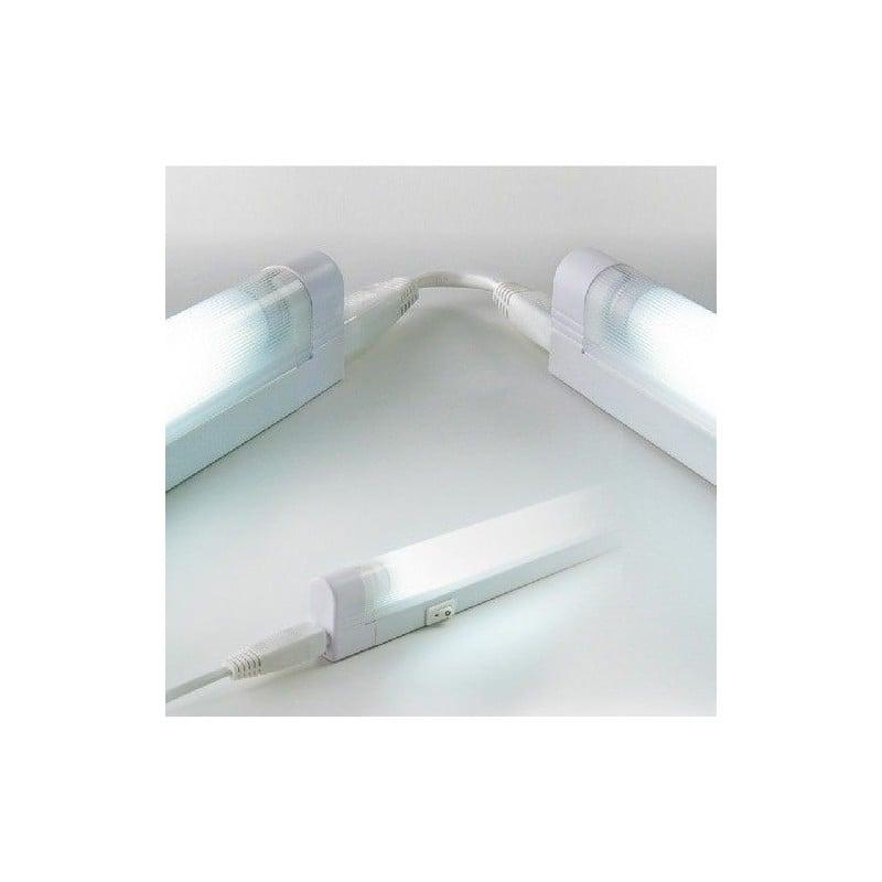 Plafoniera Arteleta Fluorescente Neon LNK.13, corredata di tubo fluorescente 13 W luce fredda 6400K o luce calda 2700K.