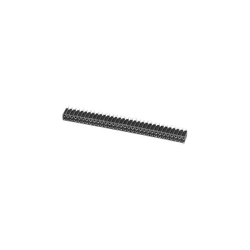 W & P Products Connettore femmina (standard) Numero di righe: 2 Poli per fila: 3 605-006-1-2-00 1 pz.
