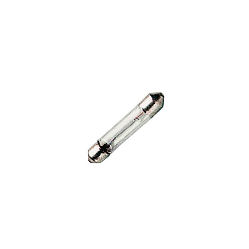 Lampadina a tubo siluro, SV 7-8 siluro in vetro 8 x 36 mm filamento C-6 24 V - 125 mA - 3 Watt al Miglior Prezzo.