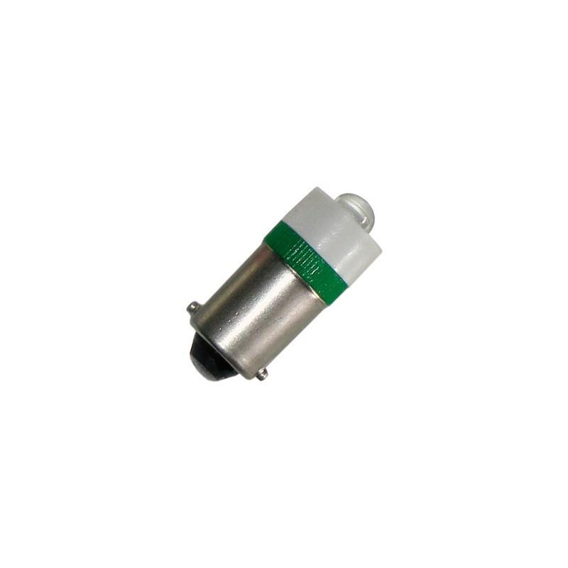 Lampada led Arteleta LB.924.W - LB.924.R - LB.924.V, Colore Bianco, Rosso, Verde, alimentazione 24V, attacco Ba9s.