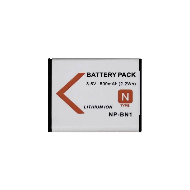 Conrad energy NPBN1 Batteria ricaricabile fotocamera sostituisce la batteria originale NP-BN1 3.6 V 500 mAh