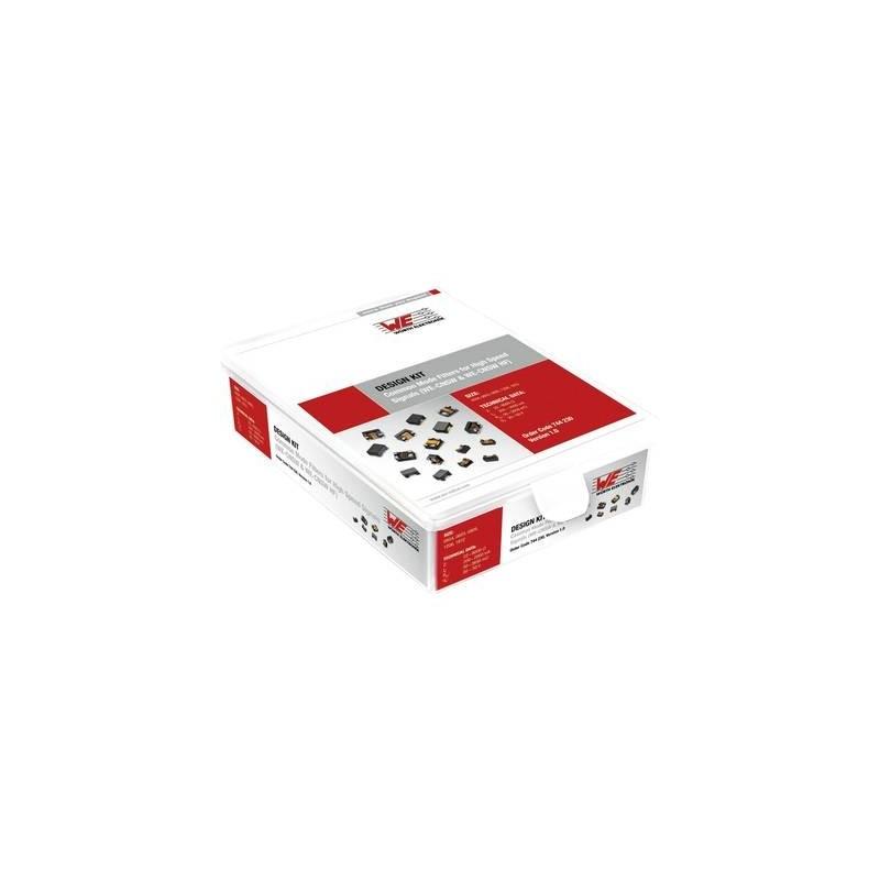 Würth Elektronik WE CNSW 744.230 Design Kit filtri 560 Parti