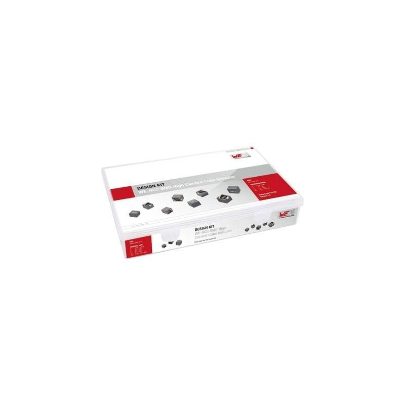 Würth Elektronik WE-HCC 744332 Design Kit induttanze 139 pz.