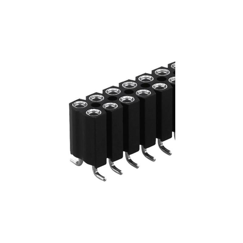 Fischer Elektronik Connettore femmina (precisione) Numero di righe: 2 Poli per fila: 20 BL 16 SMD 067/ 40 1 pz.