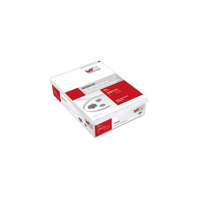 Würth Elektronik WE-CBF 742 841 Design Kit ferriti 780 Parti