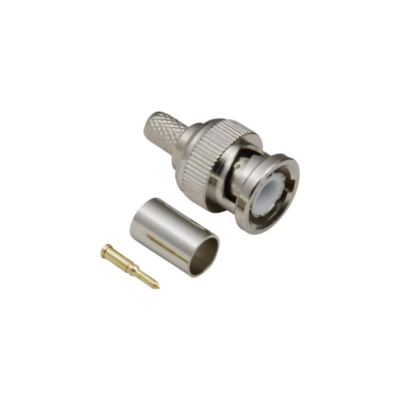 Connettore BNC Spina dritta 75 Ω TRU COMPONENTS 1 pz.