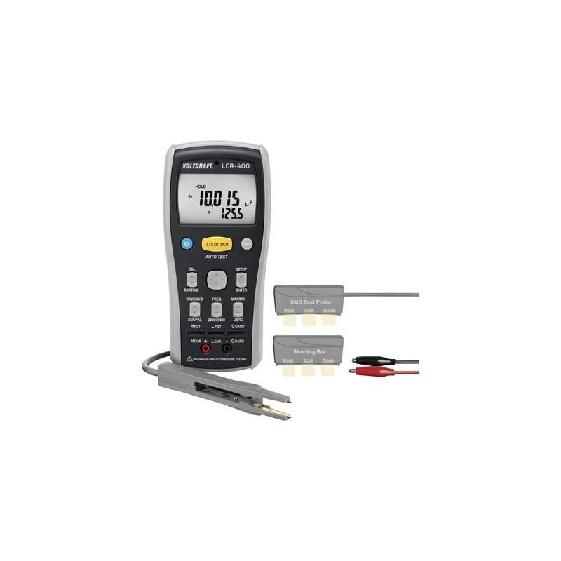 VOLTCRAFT LCR-400 Tester per componenti digitale CAT I Display (Counts): 20000