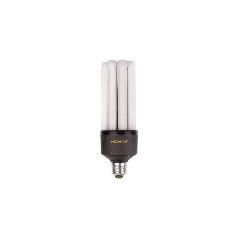 Megaman LED Classe energetica A+ (A++ - E) E27 Asta 35 W 180 W Bianco caldo (Ø x L) 63 mm x 188 mm 1 pz.