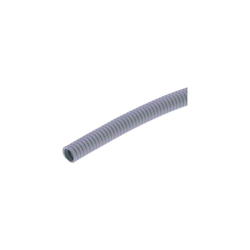 Tubo di protezione in metallo Grigio 17 mm LAPP 64400140 SILVYN® AS-P 16/17x21 10m GY Merce a metro