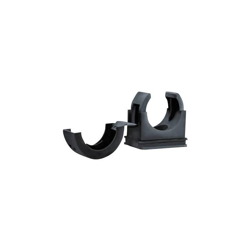 Porta tubo flessibile Nero 54 mm HellermannTyton 166-25706 PACC54 1 pz.
