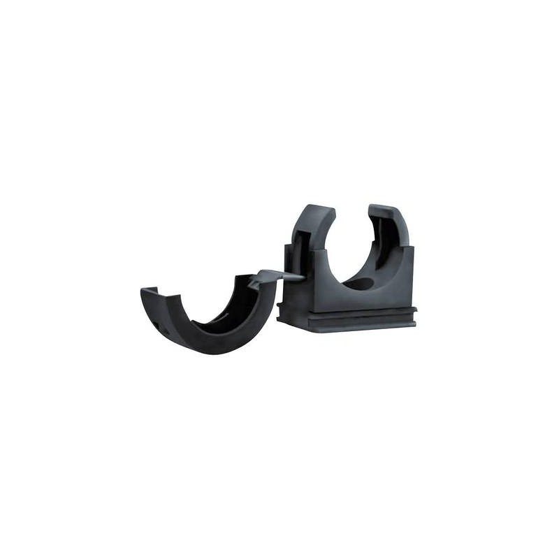 Porta tubo flessibile Nero 42 mm HellermannTyton 166-25705 PACC42 1 pz.