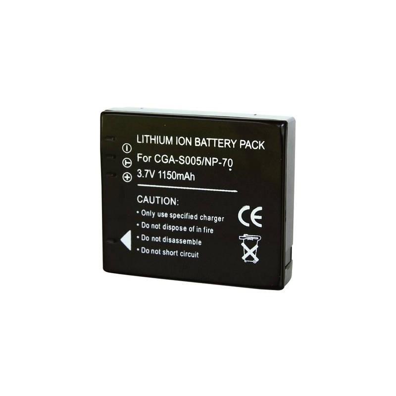 Conrad energy 250782 Batteria ricaricabile fotocamera sostituisce la batteria originale CGA-S005, DB-60, NP-70,