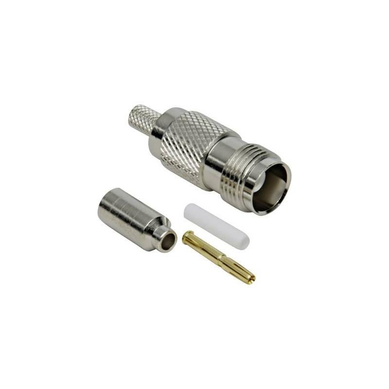 Connettore TNC Presa dritta 50 Ω TRU COMPONENTS 1 pz.