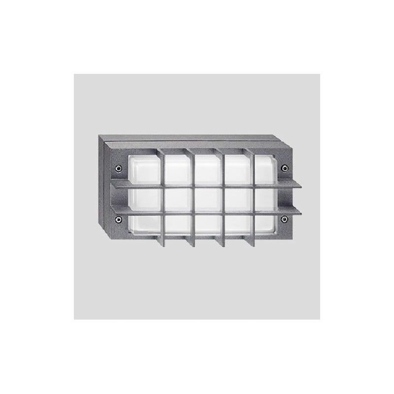 plafoniera prisma bliz guard g24d 2 18 watt grigia. Black Bedroom Furniture Sets. Home Design Ideas