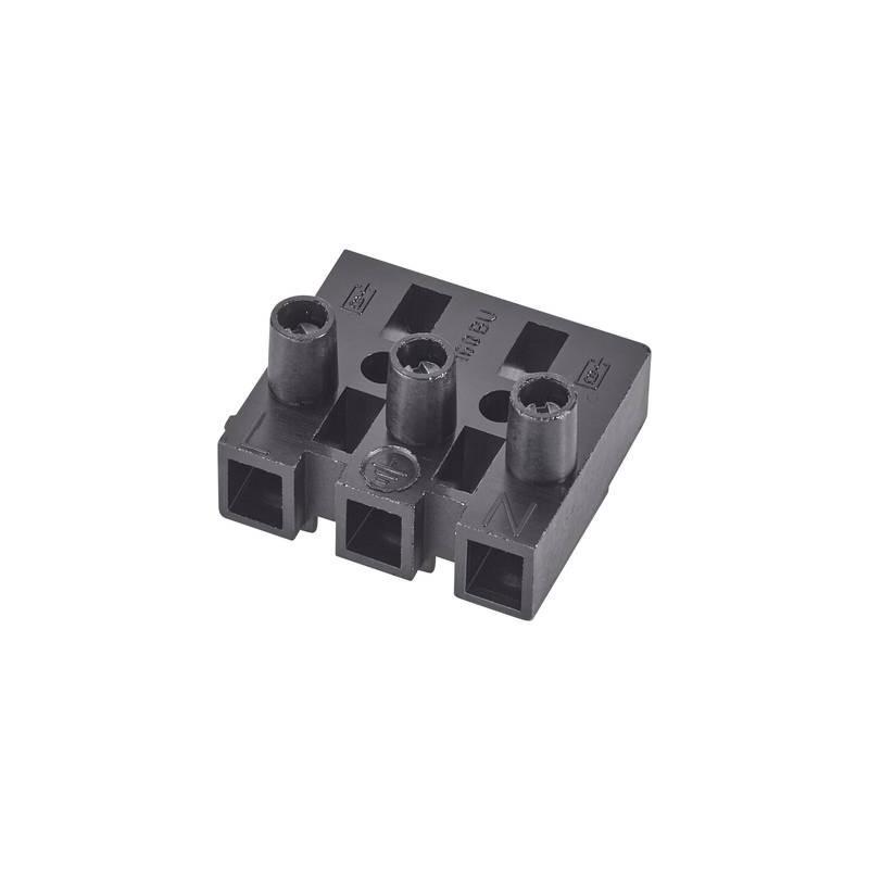 Adels-Contact 151585 V9 Morsetto flessibile: -2.5 mm² rigido: -2.5 mm² Poli: 5 1 pz. Nero