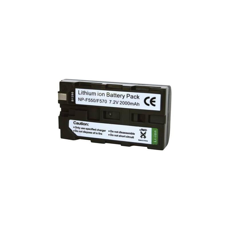 Conrad energy 250467 Batteria ricaricabile fotocamera sostituisce la batteria originale NP-F530, NP-F550, NP-F570 7.2 V