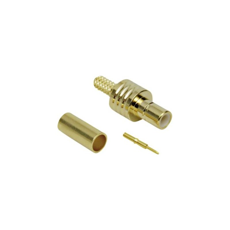 Connettore SMB Spina dritta 50 Ω TRU COMPONENTS 1 pz.