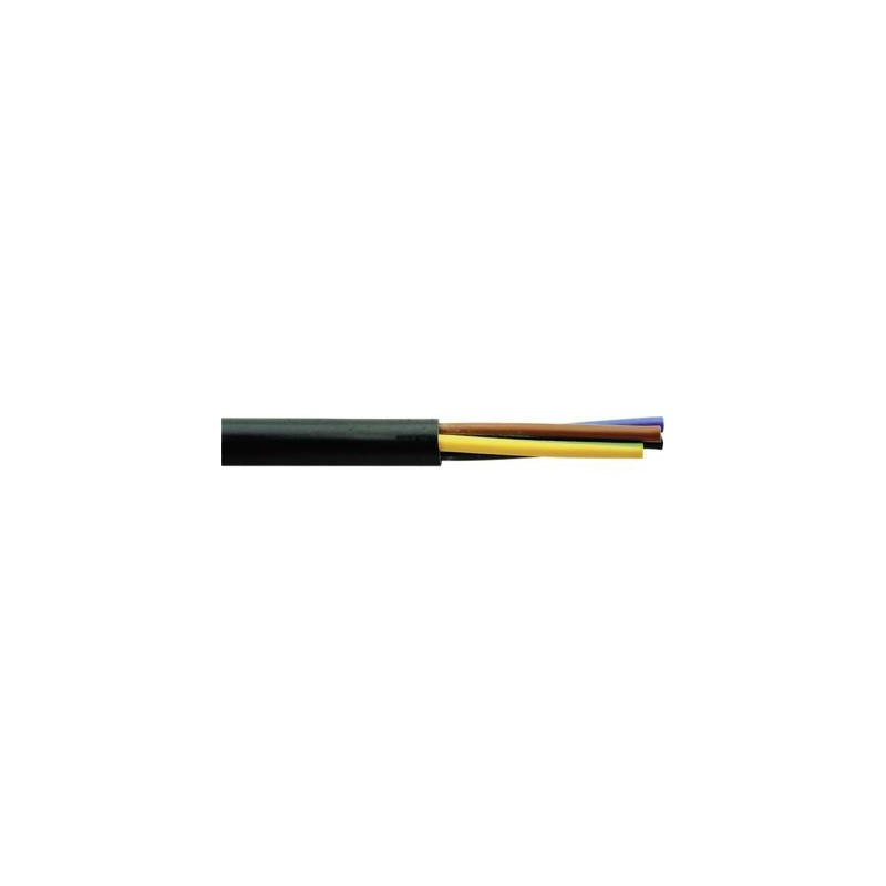 Faber Kabel 030006 Cavo flessibile H03VV-F 3 G 0.75 mm² Nero 100 m