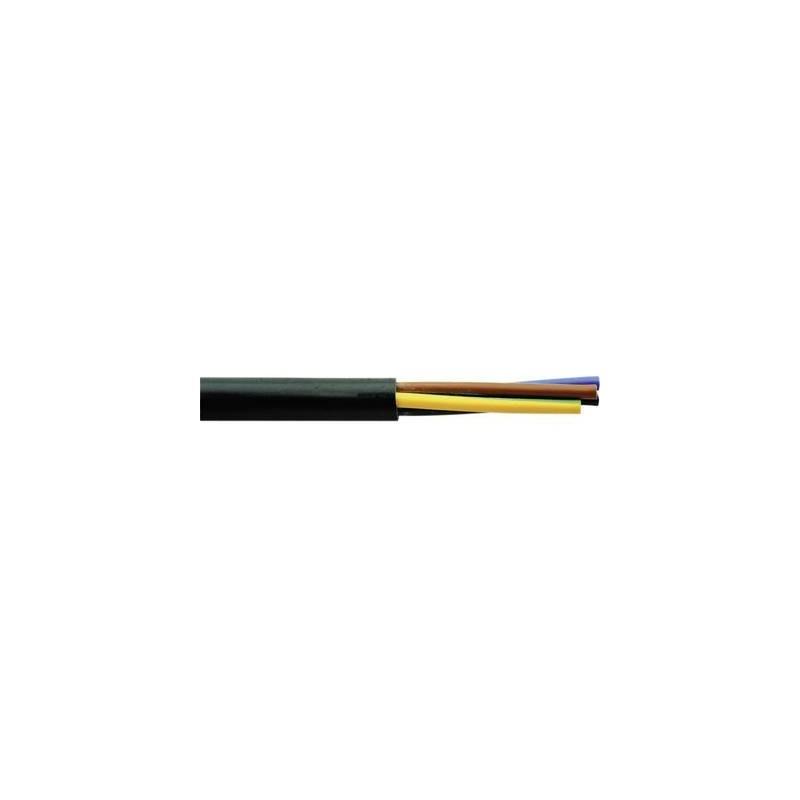 Faber Kabel 030004 Cavo flessibile H03VV-F 2 x 0.75 mm² Nero 100 m