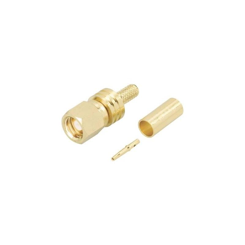 Connettore SMC Presa dritta 50 Ω TRU COMPONENTS 1 pz.