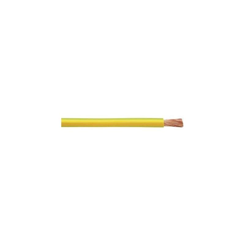 Faber Kabel 040060 Cavo per cablaggi H07V-K 1 x 25 mm² Verde-Giallo Merce a metro