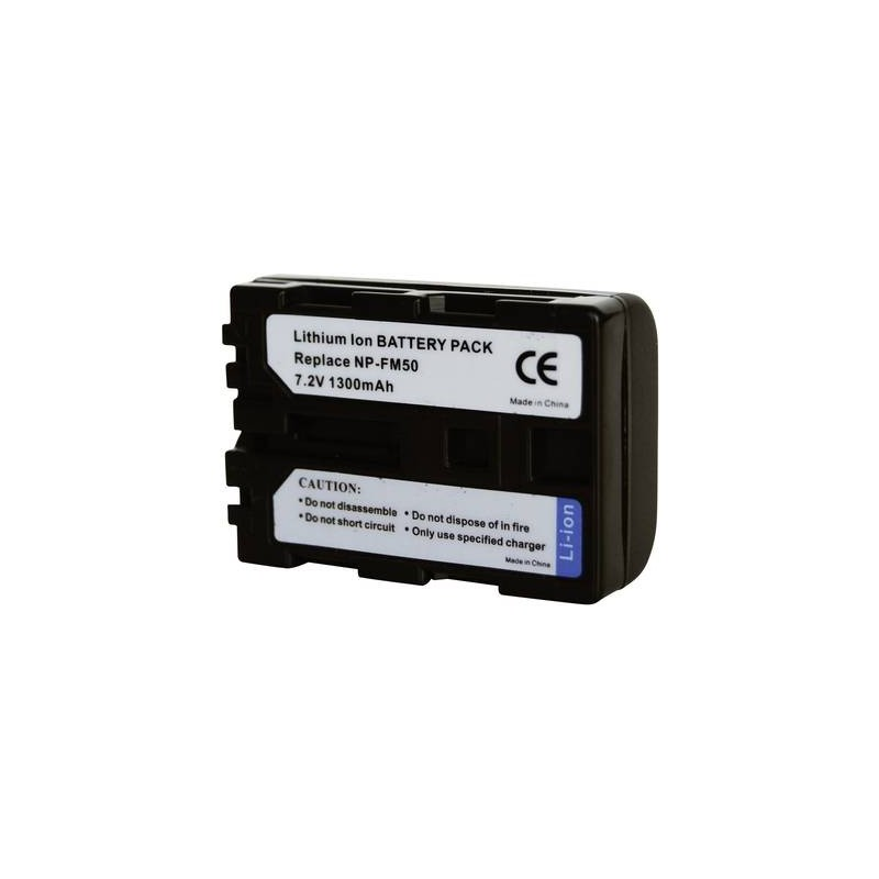 Conrad energy 250525 Batteria ricaricabile fotocamera sostituisce la batteria originale NP-FM30, NP-FM50, NP-FM51,