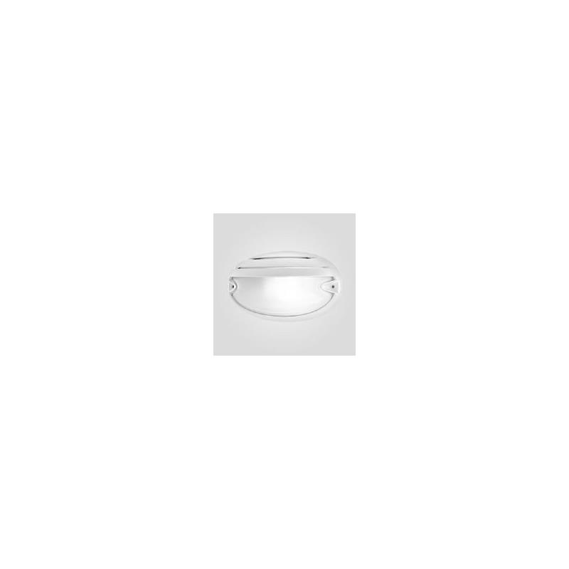 Plafoniera Prisma 005786, colore bianco, attacco E27, Potenza 30W, forma Ovale, Chip 30 Grill, Migliori Prezzi Online.