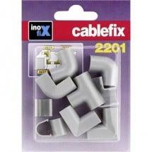 cablefix 3210_grau Canalina passacavi Collegamento canaline 10 pz. Grigio