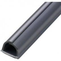 cablefix 2201_grau Canalina passacavi (L x L x A) 1000 x 8 x 7 mm 4 pz. Grigio