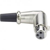 Spina XLR Paccs angolato 90°