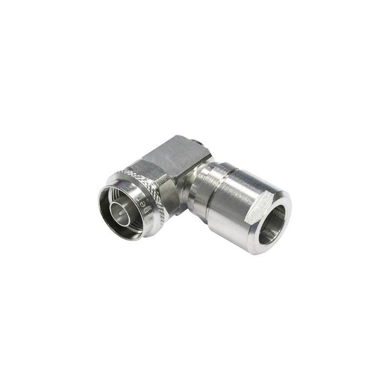 Connettore N Spina angolata 50 Ω Telegärtner J01020C0122 1 pz.