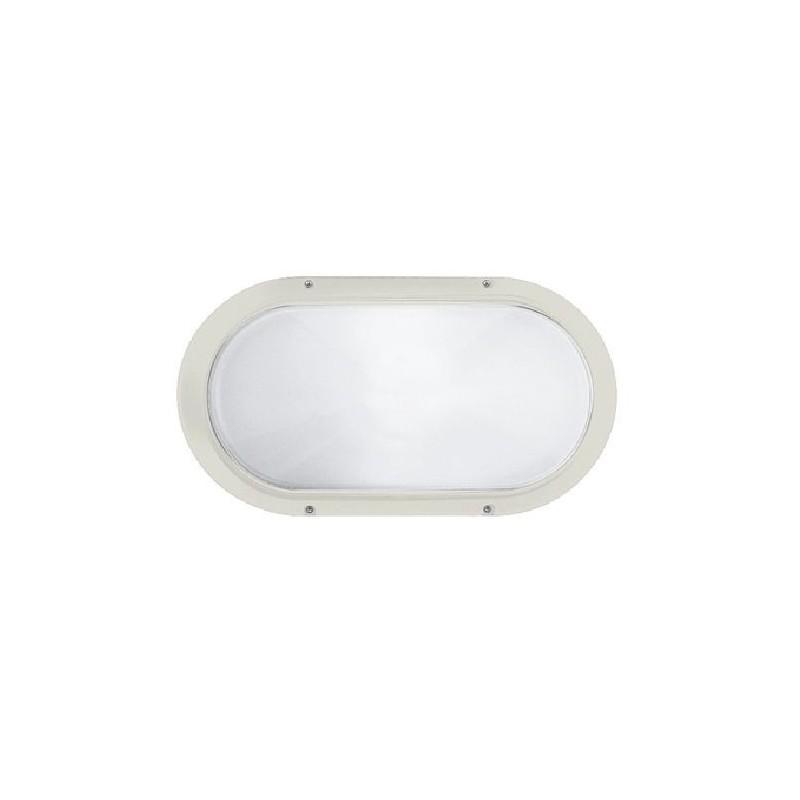Plafoniera Prisma Superdelta 33 codice 001800, colore bianco, collegamento E27, potenza 75 watt.