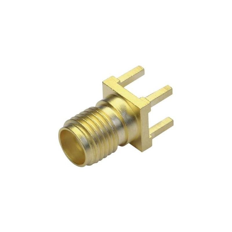 Connettore SMA Presa verticale 50 Ω Telegärtner J01151A0931 1 pz.