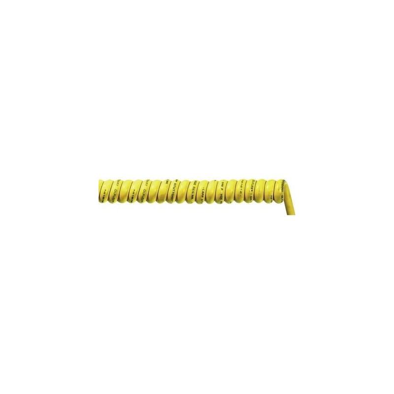 LAPP 73220144 Cavo a spirale ÖLFLEX® SPIRAL 540 P 600 mm / 2000 mm 2 x 1.50 mm² Giallo 1 pz.