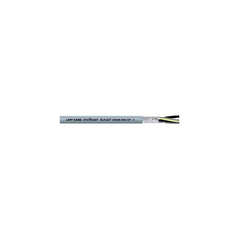 LAPP 1027752 Cavo per catene portacavi ÖLFLEX® CHAIN 808 CP 3 G 0.50 mm² Grigio Merce a metro