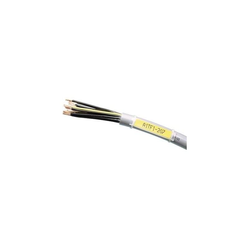 LAPP PTEF 9,5-28 83254961 Porta etichette Tipo di montaggio: fascette Superficie stampabile: 18 x 9.50 mm Adatto per