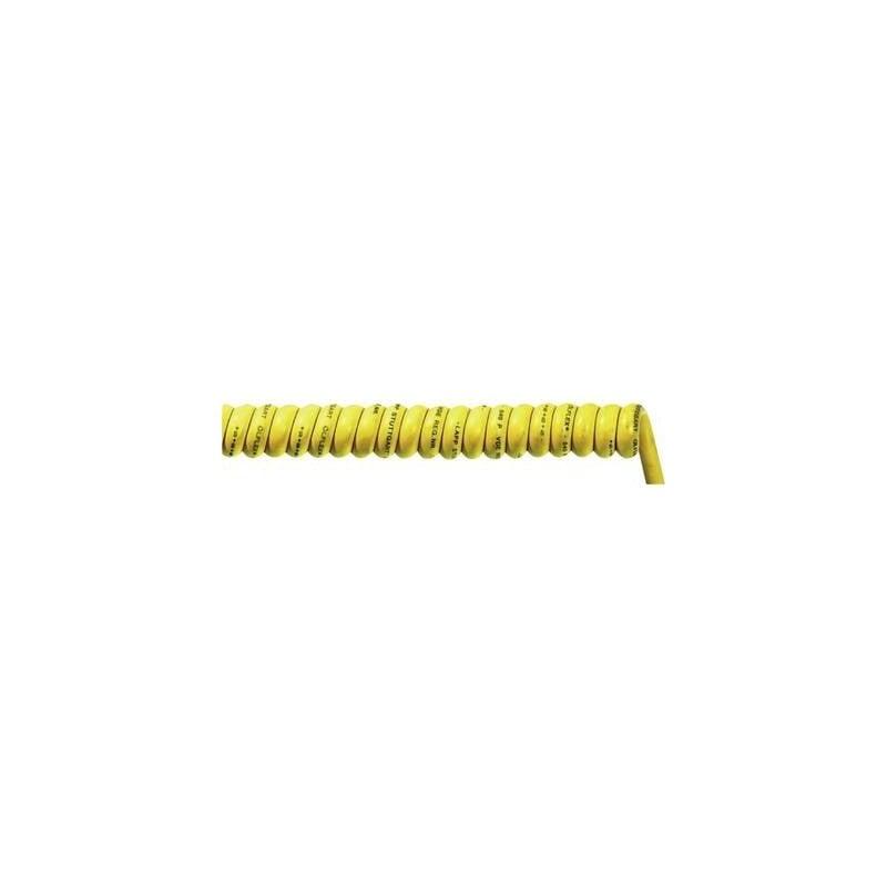 LAPP 73220160 Cavo a spirale ÖLFLEX® SPIRAL 540 P 700 mm / 2500 mm 3 x 2.50 mm² Giallo 1 pz.