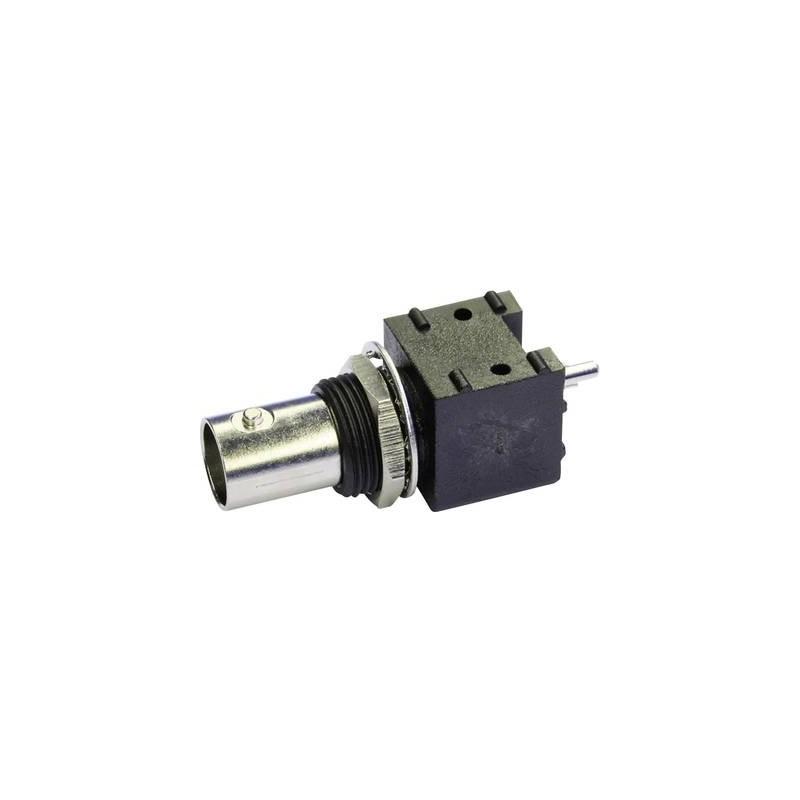 Connettore BNC Presa verticale 50 Ω Telegärtner J01001F0002 1 pz.